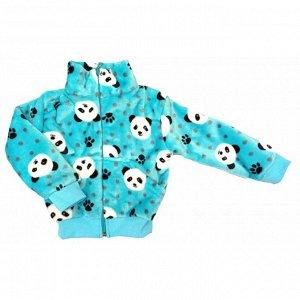 Кофта 597/9 (панда на голубом)