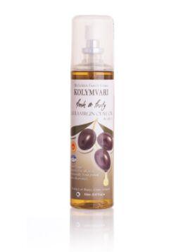 Оливковое масло спрей Extra Virgin KOLYMVARI P.D.O. 0,15л нерафинированное