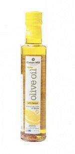 Масло оливковое Extra Virgin с лимоном CRETAN MILL нерафинированное