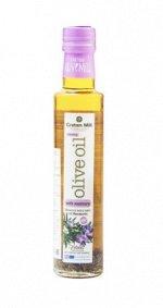 Масло оливковое Extra Virgin с розмарином CRETAN MILL нерафинированное