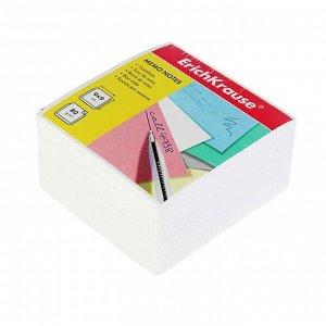 Блок бумаги для записей Erich Krause 9 х 9 х 5 см, белый, плотность 80 г/м2