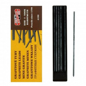 Грифели для цанговых карандашей 2.5 мм, Koh-I-Noor 4190 5В, 12 штук