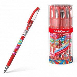 Ручка шариковая ErichKrause ColorTouch Sweet love, узел 0.7 мм, чернила синие