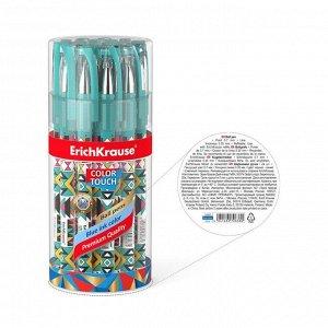 Ручка шариковая ErichKrause ColorTouch Ornament, узел 0.7 мм, чернила синие