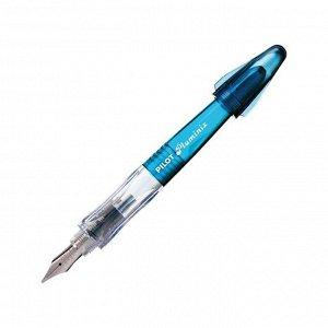 Ручка перьевая Pilot 0,58мм, корпус голубой, синяя FCD-PXS (LB)