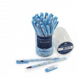 Ручка шариковая HappyWrite «Голубые птички», узел 0.5 мм, стержень синий