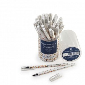 Ручка шариковая HappyWrite «Бабочки», узел 0.5 мм, стержень синий