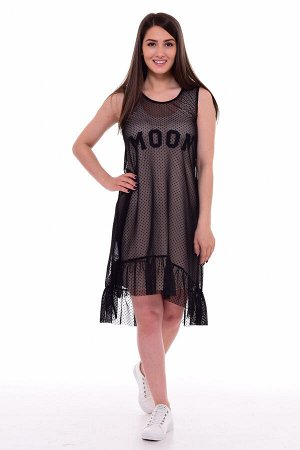 *Платье женское Ф-1-063а (бежевый)