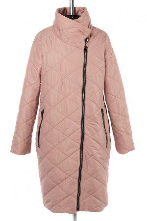 04-2670 Куртка демисезонная (Синтепон 150) Плащевка розово-бежевый