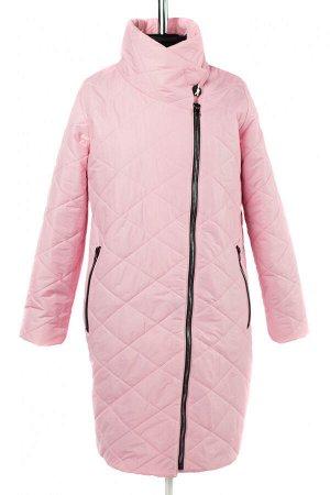 04-2668 Куртка демисезонная (Синтепон 150) Плащевка розовый