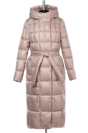 05-1975 Куртка женская зимняя (Био-пух 300) Плащевка розовый