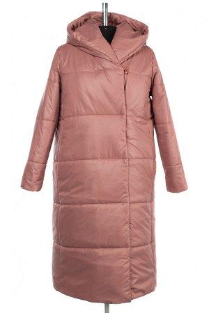 05-1968 Куртка женская зимняя (синтепон 300) Плащевка бежево-розовый
