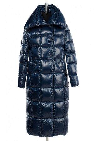 05-1951 Куртка женская зимняя (Био-пух 300) Плащевка темно-синий