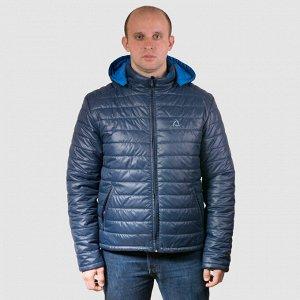 Куртка Мужская куртка с синтетическим наполнителем отлично удерживает тепло, обеспечивает комфорт. Куртка выполнена из стеганой плащевой ткани (ткань Милан ВО).Модель прямого кроя,утеплитель изософт