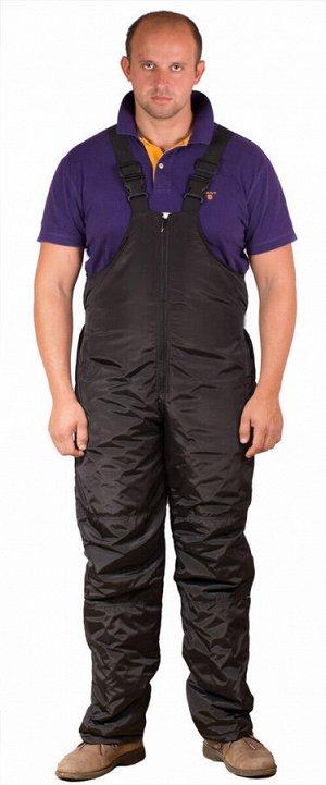 Мужской зимний комбинезон (брюки на лямках)