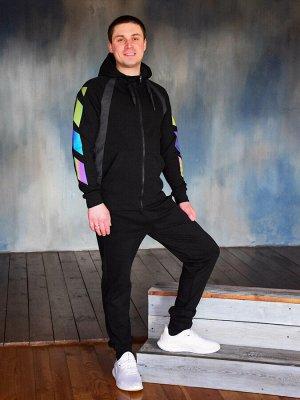 Спортивный костюм на молнии Лайт , черный