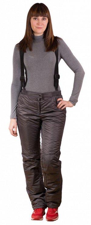 Женские брюки - комбинезон, модель (цвет графит)
