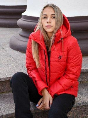 Женская куртка Аэролайт-красный