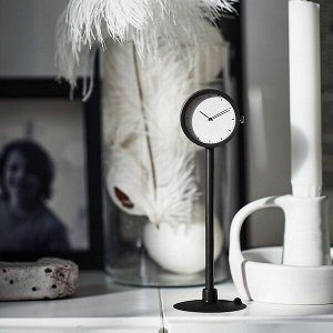 STAKIG СТАКИГ Часы, черный 16.5 см