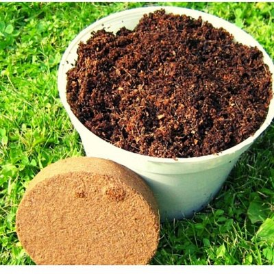 ИЗДЕЛИЯ ИЗ КОКОСА! ИДЕАЛЬНЫЙ УЧАСТОК! — мульча + грунт из мякоти ореха кокоса — Сад и огород