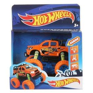 """1806A114-R1 Машина металл свет-звук """"hot wheels внедорожник"""" 12см, инерц., подвеска в кор. в кор2*36шт"""