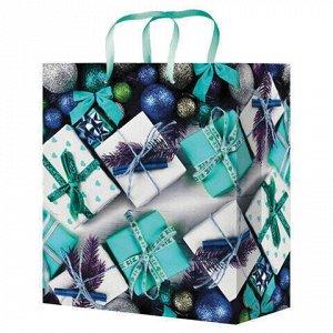"""Пакет подарочный """"Подарки"""", ламинированный"""
