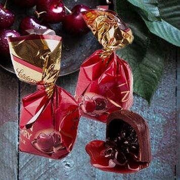 🍭СЛАДКОЕ НАСТРОЕНИЕ! Та самая вишня в ликёре 🍒 — Польские конфеты НОВИНКИ — Конфеты