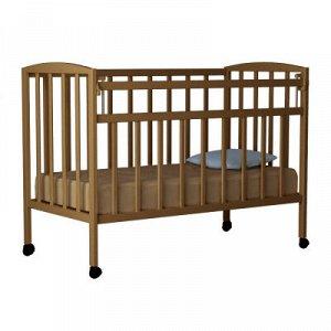"""Кровать детская """"Magico mini"""" (колесо, откид.планка, КР1-01м) (темный орех)"""