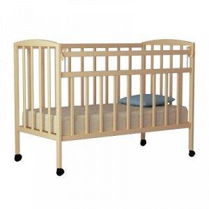"""Кровать детская """"Magico mini"""" (маятник, откид.планка, КР1-03м) (береза)"""