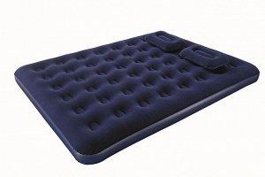 Надувной матра + насос +2 подушки
