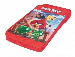 Надувная кровать ANGRY BIRDS 96114 (132см х 76см х 20см) (1/3)
