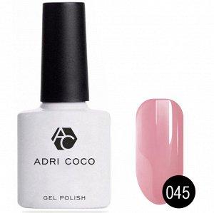 Цветной гель-лак ADRICOCO №045 дымчато-розовый