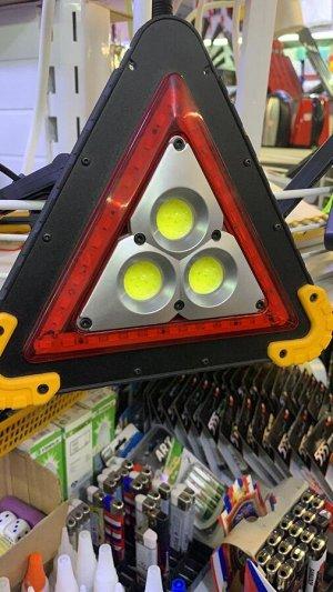 Знак аварийной остановки светодиодный аккумуляторный