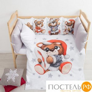 Набор подушек Крошка Я «Мишка» 35х35 см- 4 шт