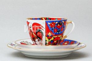 Комплект чайный ф. Весенняя рис. Народные узоры