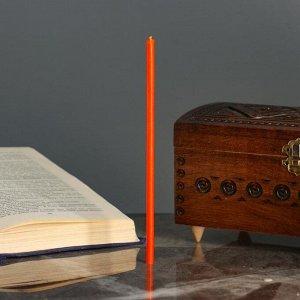 Свечи ритуальные , 18 см, 5 штук, оранжевые