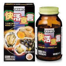 ORIHIRO  Экстракт мидий, устриц, куркумы и чеснока, 180 шт.
