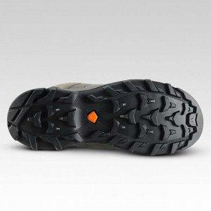 Ботинки для горных походов mh500 детские высокие непромокаемые