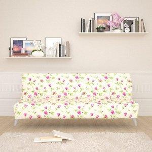 Чехол для дивана б/п Миниатюрные розы