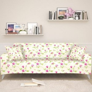 Чехол для дивана Миниатюрные розы