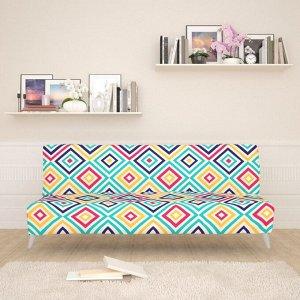 Чехол для дивана б/п Яркий орнамент 2