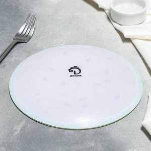 Тарелка обеденная Доляна «Сладкий арбуз», d=20 см