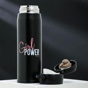 "Термос ""Girl power"", 500 мл, сохраняет тепло 6 ч"