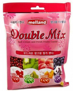 Карамель фруктовая со сливками «Double Mix candy» 100 г