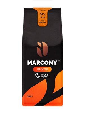 Кофе Marcony AROMA со вкусом Апельсина зерно 200 г. м/у