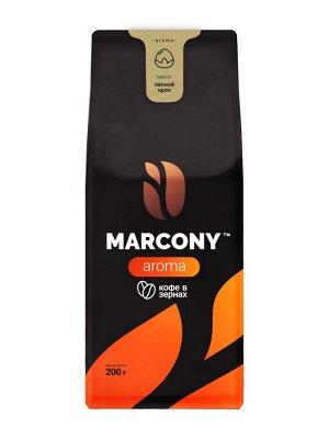 Кофе Marcony AROMA со вкусом Лесного ореха зерно 200 г. м/у