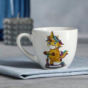 """Чашка """"Единорог"""", 200 мл"""