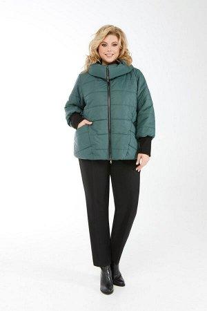 Куртка Куртка Pretty 954 изумруд  Состав: ПЭ-100%; Сезон: Осень-Зима Рост: 164  Куртка из простеганной на синтепоне плащевой ткани. Спереди обработаны рельефы из проймы, карманы и застежка на молнию.