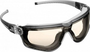 KRAFTOOL ORION Прозрачные профессиональные защитные очки с регулируемыми дужками