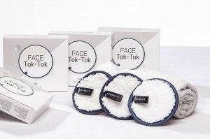 Косметический спонж  для простого  и легкого очищения кожи Crumelis Face Tok Tok